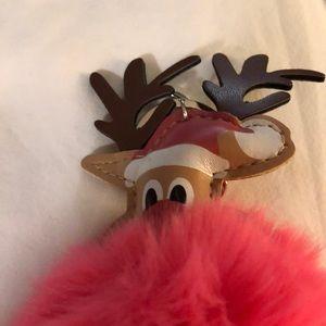 Accessories - Reindeer Pom Pom Keychains